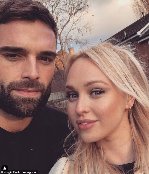 Romance: But, Jorgie suggested that she would now only be interested in stripping off for her beau Ollie Piotrowski (pictured), who she was first spotted with in September 2020
