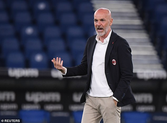 Stefano Pioli could be under pressure if AC Milan fail to qualify for the Champions League