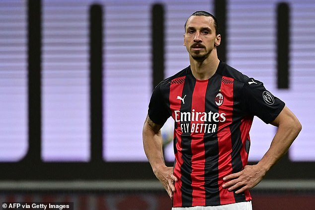 Anderson, 38, said he takes inspiration from players such as Zlatan Ibrahimovic, 39