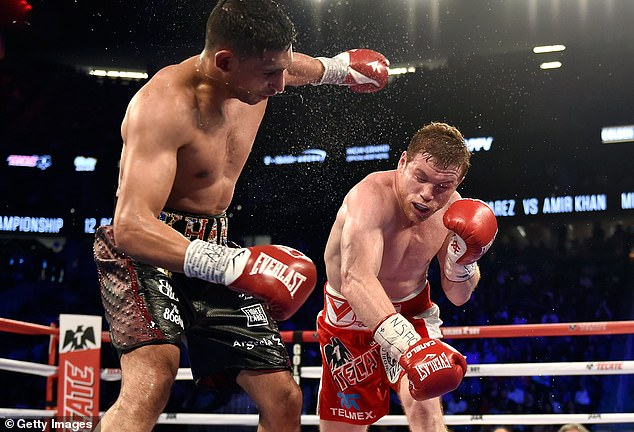 Khan claims Canelo is very quick with his timing and his boxing record proves how good he is