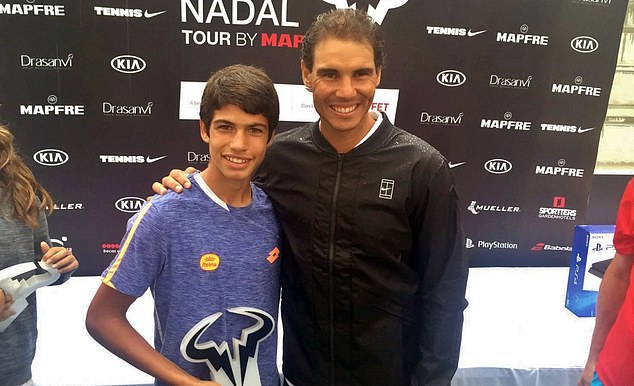 Alcaraz worships countryman Nadal and called their meeting in Madrid 'a dream come true'