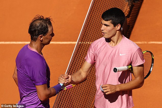 Rafael Nadal comfortably beat Spanish starlet Carlos Alcaraz in Madrid Open second round