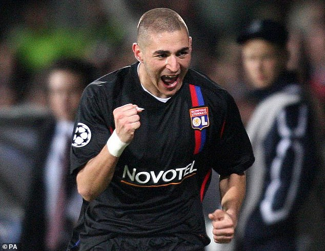 Benzema first caught the ex-Manchester United boss' eyes by scoring against the club in 2008