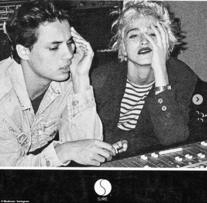 Madonna pays an emotional tribute to her protégé Nick Kamen after his death  aged 59 - 247 News Around The World