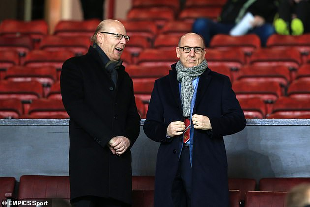 Fans were vocal in their opinion of the Glazers who supported the breakaway league