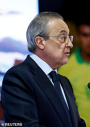 Real Madrid president Florentino Perez was a major driving force behind the breakaway proposals