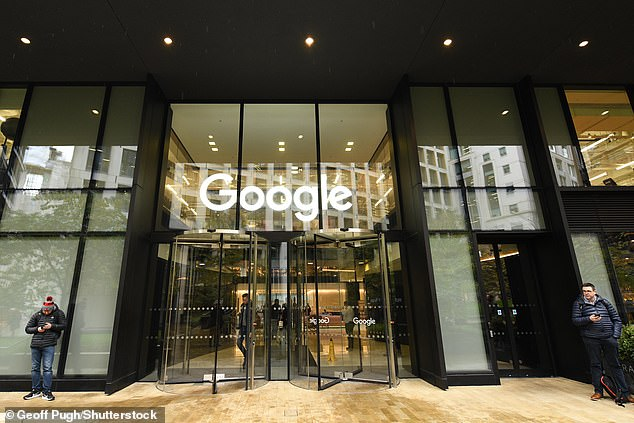 Google is walking back its original plan to have all of its employees return to work at its offices at least three times a week. Pictured: Google's London headquarters