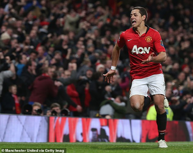 He named ex-Manchester United striker Javier Hernandez as one of three footballers he admires, including Cristiano Ronaldo and Lionel Messi