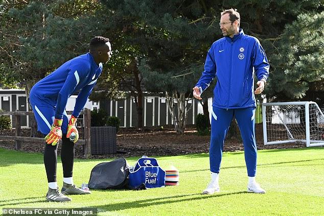 Mendy cost £22million from Rennes - the same finishing school which produced Petr Cech