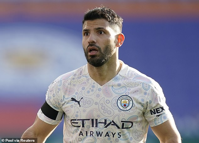 Barcelona have reportedly held initial talks with representatives of Manchester City striker Sergio Aguero