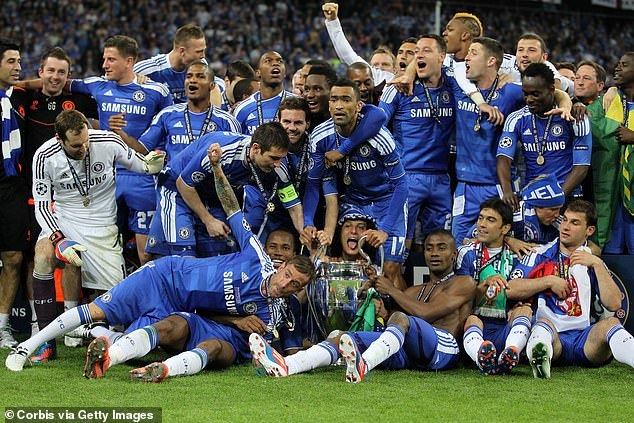 He stayed up late to watch Didier Drogba's goal and Petr Cech's penalty saves to win the title