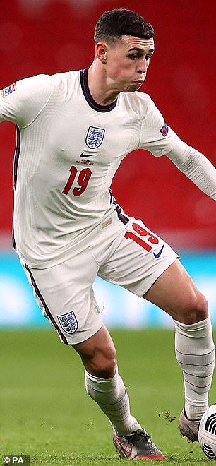 Phil Foden joins him in a golden generation for the Three Lions