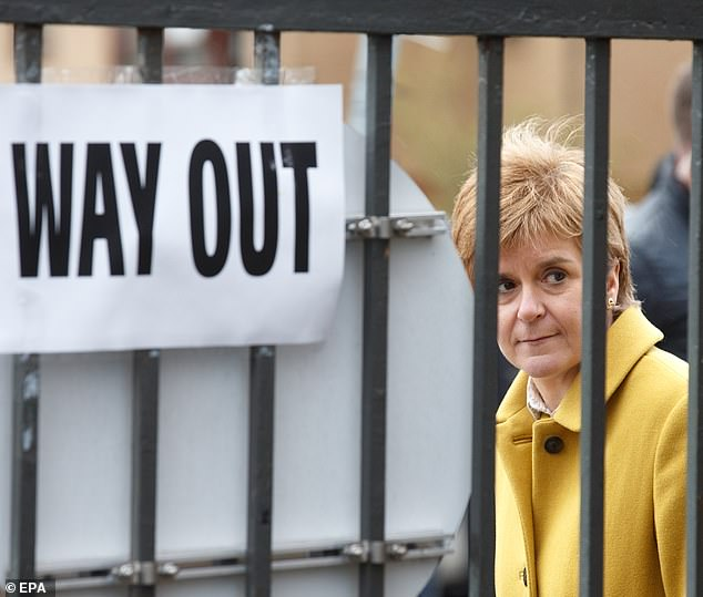 As the process of counting Scottish parliamentary votes began, experts predicted that the First Minister's chances of wielding enough power to demand a second independence referendum hung in the balance.