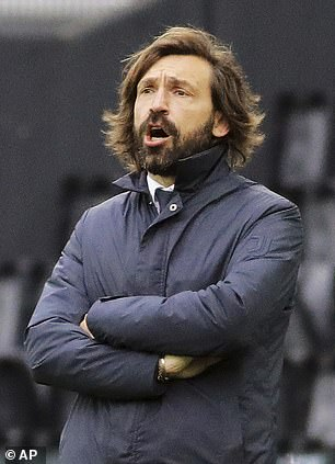 Andrea Pirlo is under pressure following a disapointing debut season as Juventus manager