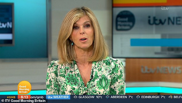 Success: The Good Morning Britain presenter has sold more than 22,000 copies of her book about her husband Derek Draper's battle with Covid just a week after its release on Thursday