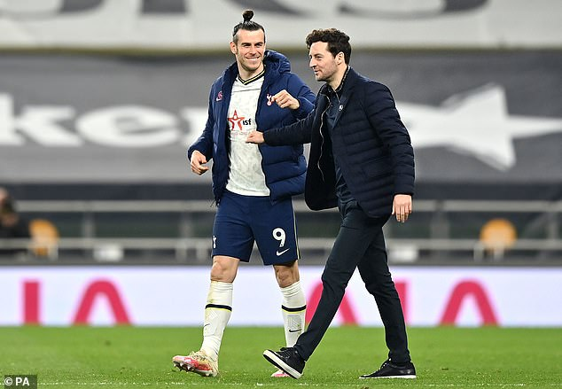 Spurs, currently under caretaker boss Ryan Mason (right),want a new permanent manager