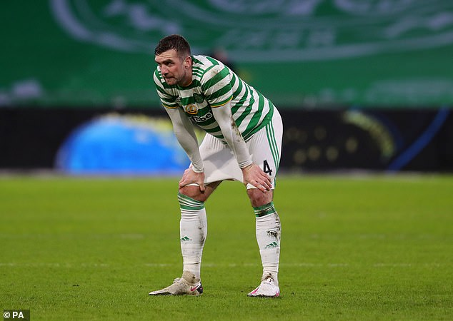 Potter said Shane Duffy 'had a tough time' on loan at Celtic after his father died before moving