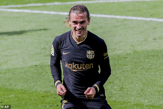 Barcelona forward Antoine Griezmann faces his former club Atletico and is now in superb form