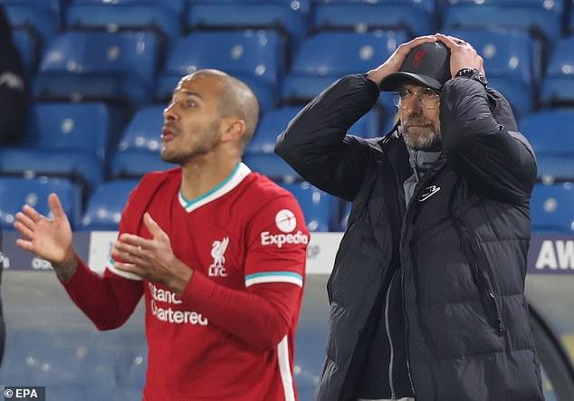 Klopp also wants summer signing Thiago Alcantara (left) to start afresh from next season