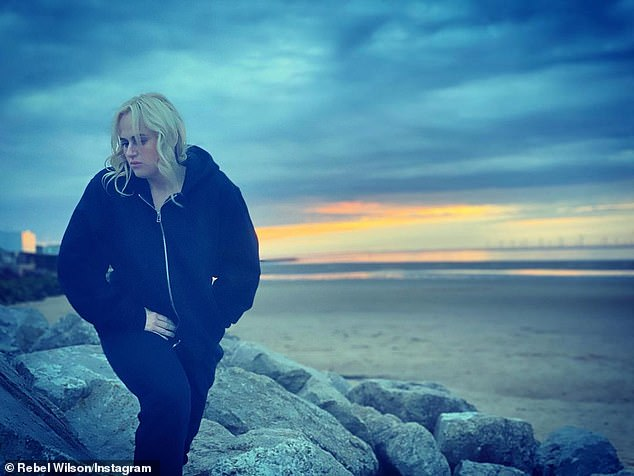 Getting better: Rebel's glimpse in to her hotel life comes after she thanked fans for their support in a heartfelt update to her cryptic Instagram post on Sunday in which she revealed her fertility struggles