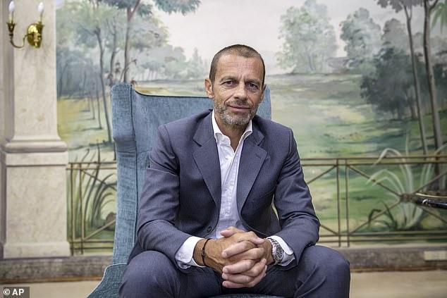 UEFA president Aleksander Ceferin oversaw aClub Commitment Declaration on Friday