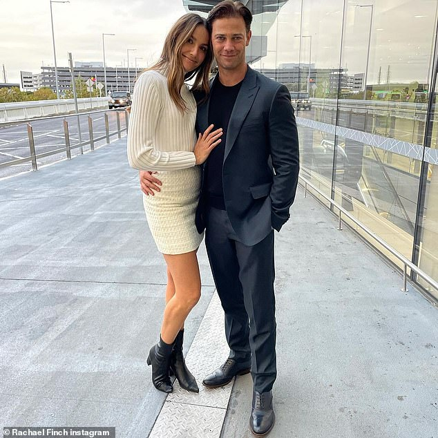 Fluent: Rachael previously revealed that her daughter Violet, who was five years old at the time, was fluent in the language thanks to her Russian-born husband and former Dancing With The Stars professional dancer, Michael Miziner