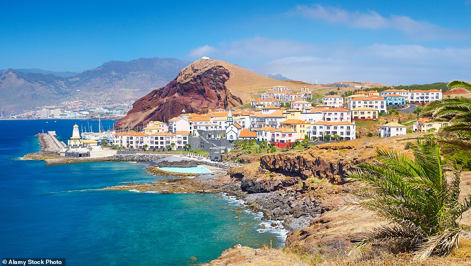 Go, go, go! Wizz Air has bargain flights from Luton to Madeira, pictured, from £81 return later this month