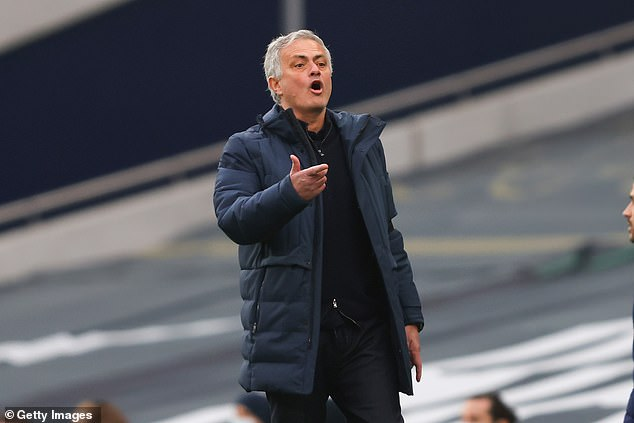 Mourinho is said to have lined up the raid on ex-club United with Van de Beek's future unclear