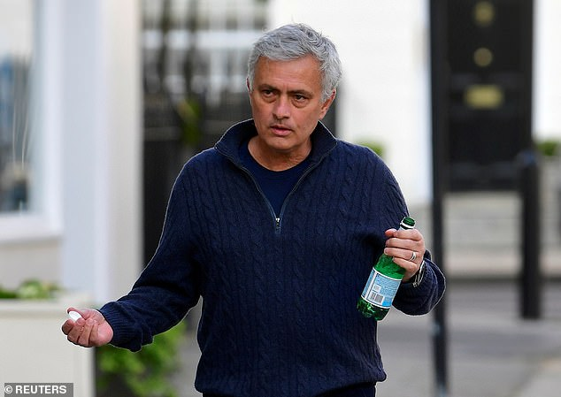Jose Mourinho was sacked by Tottenham last month but is already planning signings at Roma