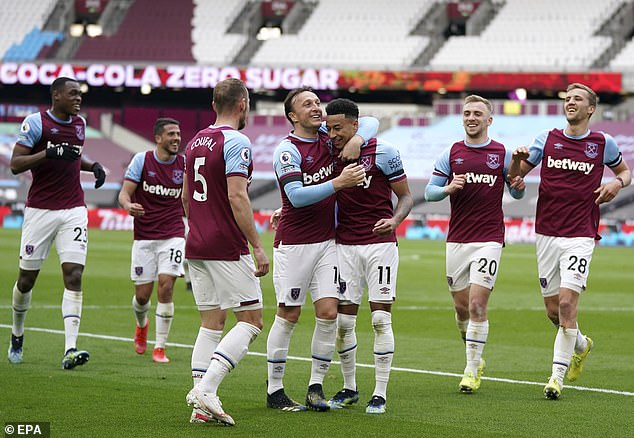 West Ham have been backed to make a late surge and qualify for the Champions League