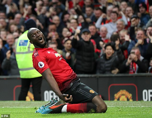 Lukaku joined Man United in 2017 and spent two years at the club after arriving from Everton