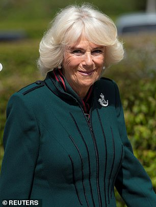 Camilla, a fully vaccinated grandmother-of-five, made the admission despite the state forbidding hugging until May 17 at the earliest