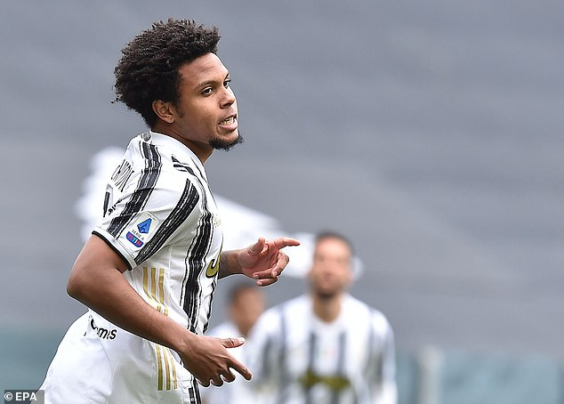 Andrea Pirlo says Weston McKennie is 'more professional' than when he first joined the club