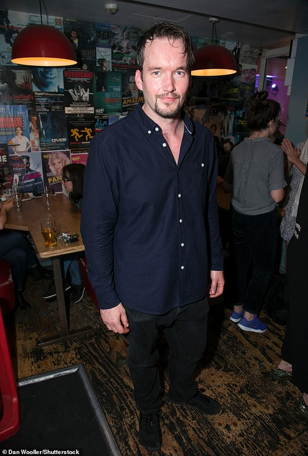 Candid:David-Lloyd, 40, (pictured) who played Ianto Jones on the sci-fi series, has admitted 'professional lines were sometimes blurred'