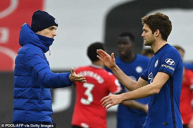 Alonso though has worked his way back into the fold since Thomas Tuchel was appointed