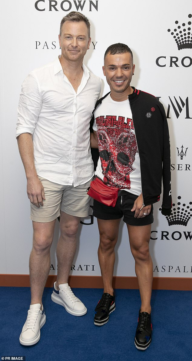 Exciting!  Casting is officially underway for Celebrity Gogglebox Australia - and Anthony Callea and husband Tim Campbell (pictured) are 'in talks' to be on the show