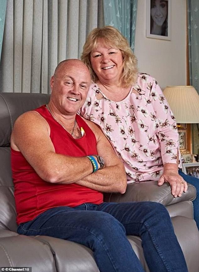 Success: Gogglebox Australia recently celebrated 100 episodes of the series.  Lee and Keith pictured