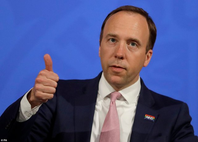 Matt Hancock was last night accused of sabotaging the nation's half-term holiday plans as the backlash over the Government's overseas travel blueprint intensified
