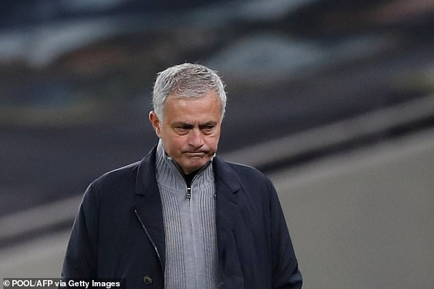 Mourinho was sacked by Tottenham in April after a disappointing run of results