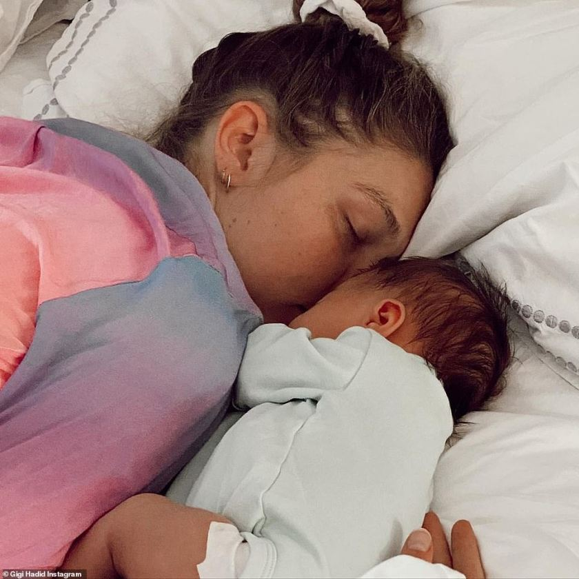 Aww!Gigi Hadid posted a heart-warming tribute to her daughter Khai as she joined a slew of A-listers including Tom Brady and Mariah Carey in celebrating Mother's Day on Sunday