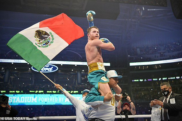 The Mexican has now unified the super-middleweight division with his 56th professional win
