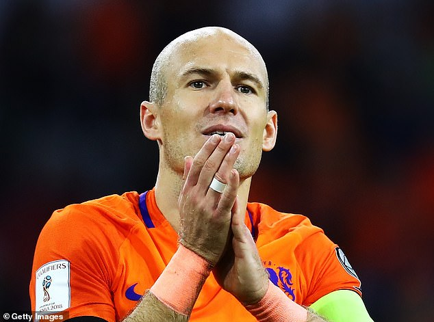 Robben revealed he would accept a call up from Frank de Boer for the Dutch Euro 2020 squad