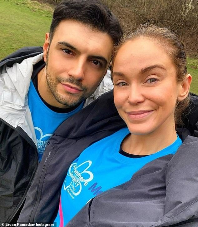 Changes:Vicky explained her doctor took out her implant in a bid to ease her turbulent emotions, resulting in the TV personality and her beau retiring to separate rooms at night