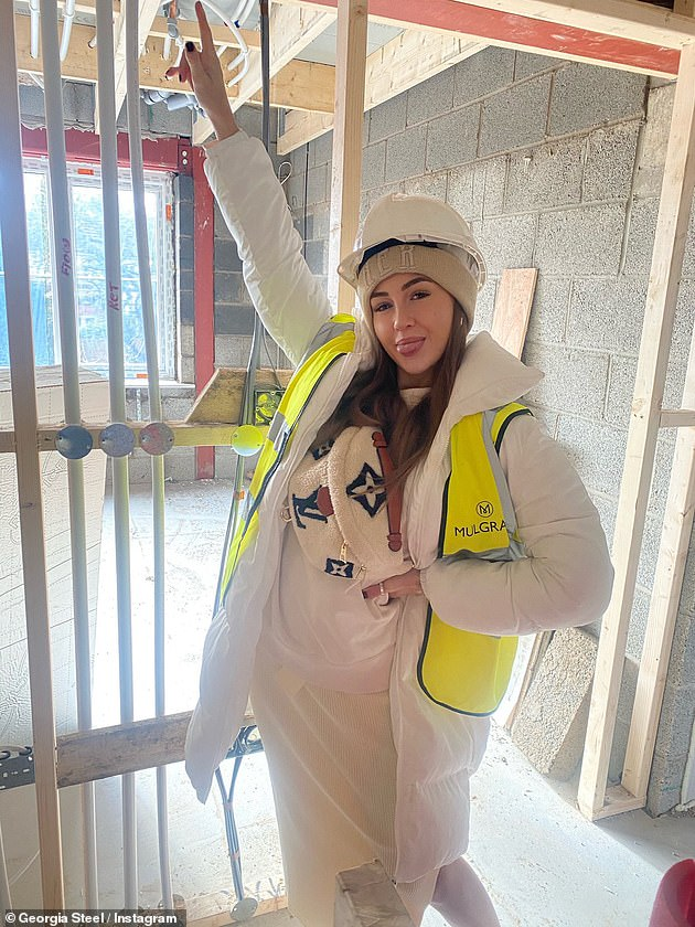 New home:It comes after the star, who turned 23 last month, recently revealed her excitement to be embarking on a solo mission to build her own home