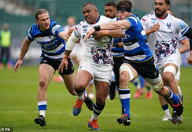 Kyle Sinckler was in dominant form for the Bristol Bears after what has been a tough week