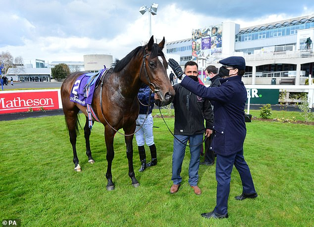 Bolshoi Ballet gave trainer Aidan O'Brien (right) the 14th Derrinstown victory of his career