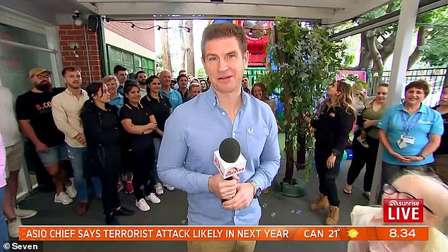 'Overwhelming': Sunrise meteorologist and mental health advocate Sam Mac revealed he often gets social media messages from people in crisis considering suicide