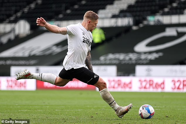 Martyn Waghorn scored two crucial goals in Derby's 3-3 draw with Sheffield Wednesday