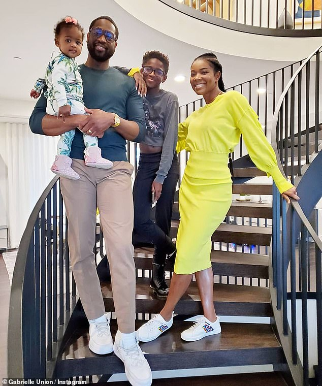 Adding to the mix: After getting married in 2014, Wade and Union welcomed a daughter named Kaavia James via surrogate in 2018