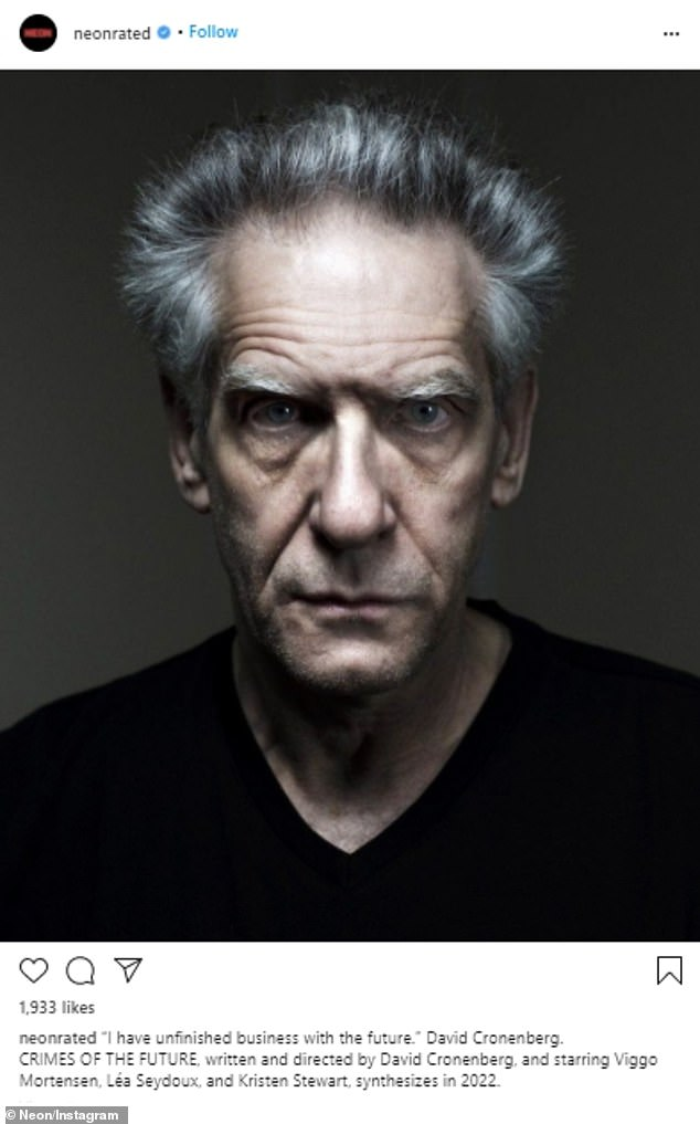 Greece at its destination!  This summer, the Run This Town actor will fly to Athens to film David Cronenberg's transhumanist sci-fi film Crimes of the Future alongside Viggo Mortensen, Léa Seydoux and Kristen Stewart.